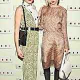 Mia Moretti and Caitlin Moe