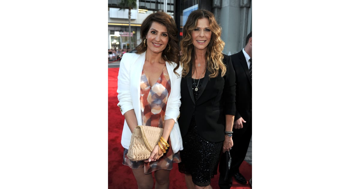 Nia Vardalos And Rita Wilson Celebrity Style Popsugar Fashion Uk Photo 10
