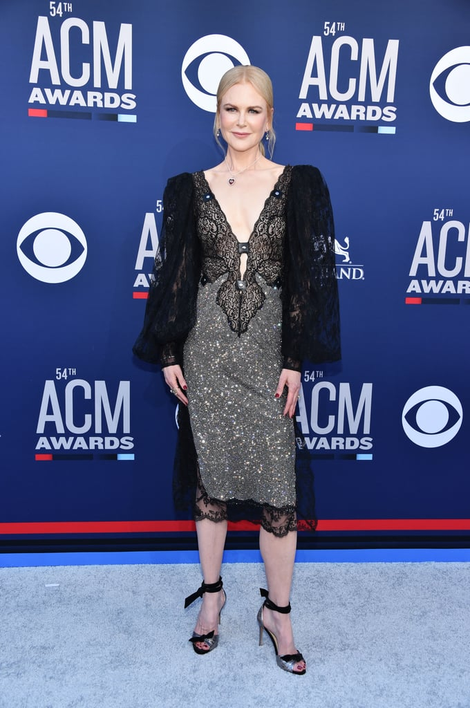Nicole Kidman Christopher Kane Dress at the ACM Awards 2019 | POPSUGAR Fashion UK