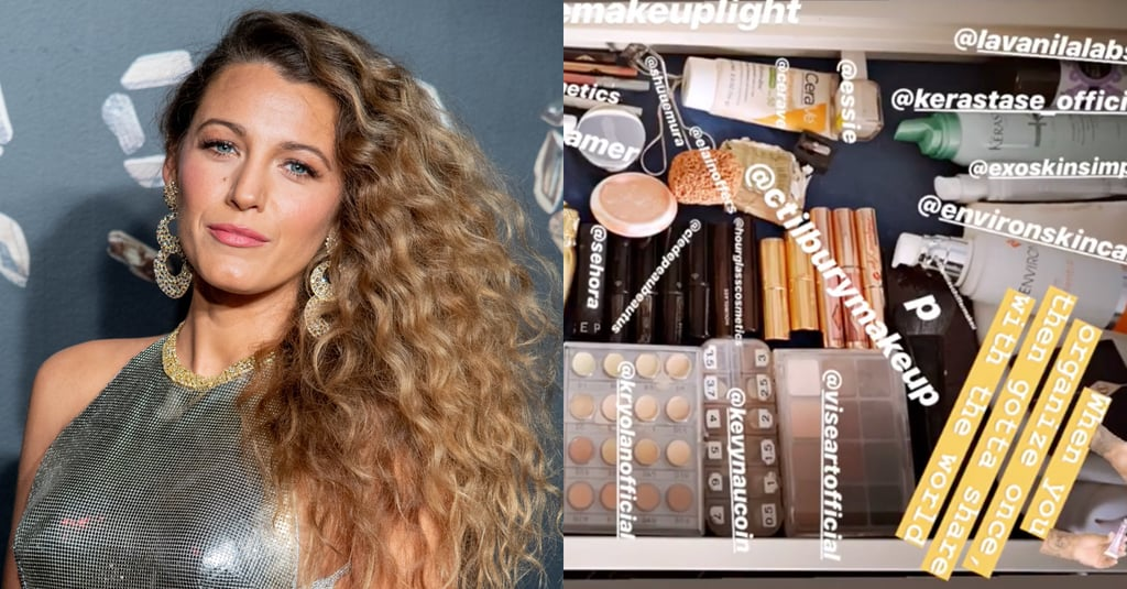 Blake Lively's Beauty Drawer on Instagram Stories