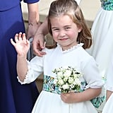When Princess Charlotte Gave a Royal Wave