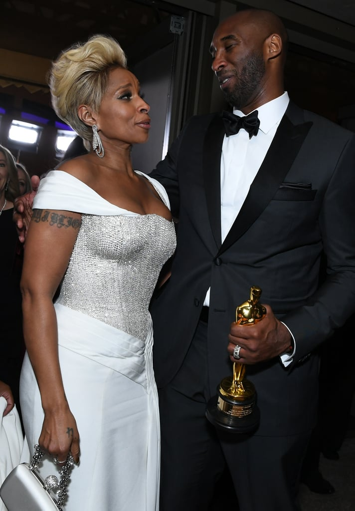 Pictured: Mary J. Blige and Kobe Bryant