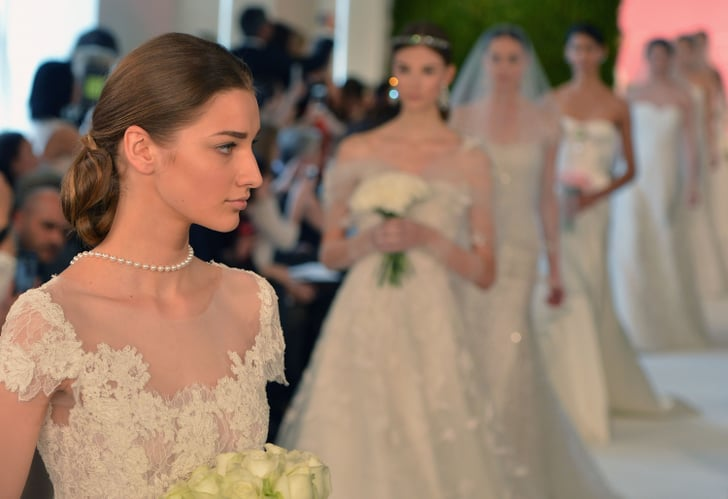 Zoom In on the Regal Hair and Makeup Looks From Bridal Fashion Week