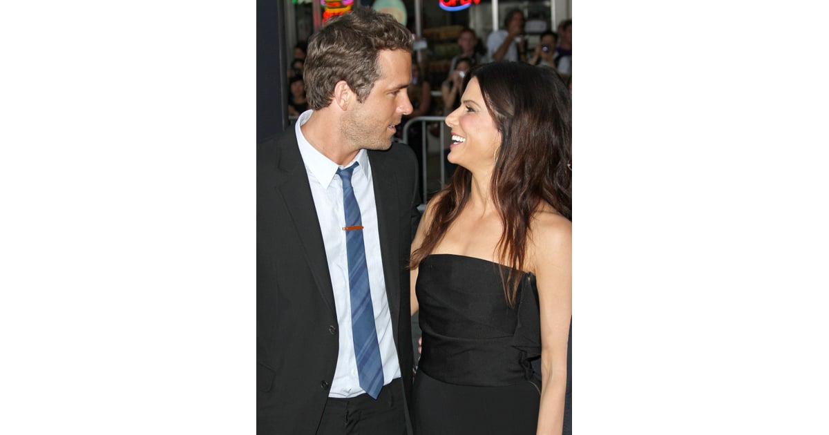 Sandra Showed Up To Support Her Pal Ryan Reynolds At The