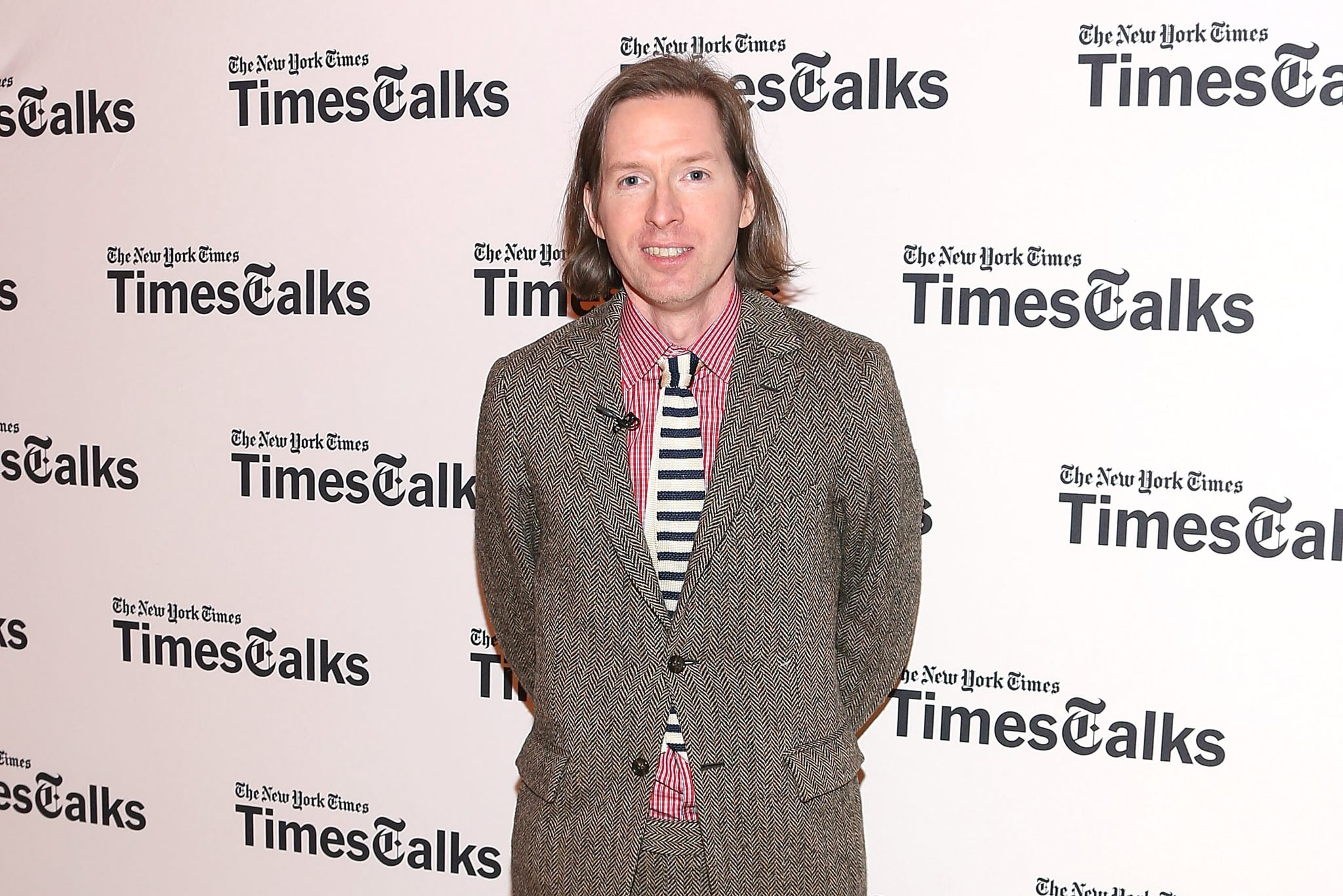 NEW YORK, NY - FEBRUARY 25:  Actor Wes Anderson attends TimesTalk Presents An Evening With Wes Anderson And Ralph Fiennes at The Times centre on February 25, 2014 in New York City.  (Photo by Taylor Hill/FilmMagic)