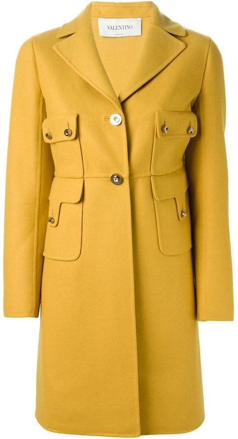 Valentino Rockstud Coat ($5,290)