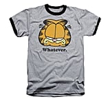 Garfield Whatever Ringer Shirt  ($24)