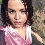 "Selena Gomez's Pink Robe in ""Wolves"" Video"