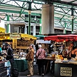 Devour delicious, worldly cuisine at Borough Market.