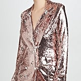 Endless Rose Sequin Double-Breasted Blazer