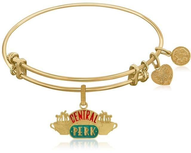 Ice Expandable Bangle With Central Perk Symbol ($32)