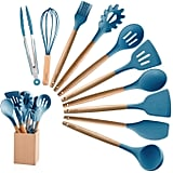 MIBOTE 10 Pieces Silicone Cooking Utensils