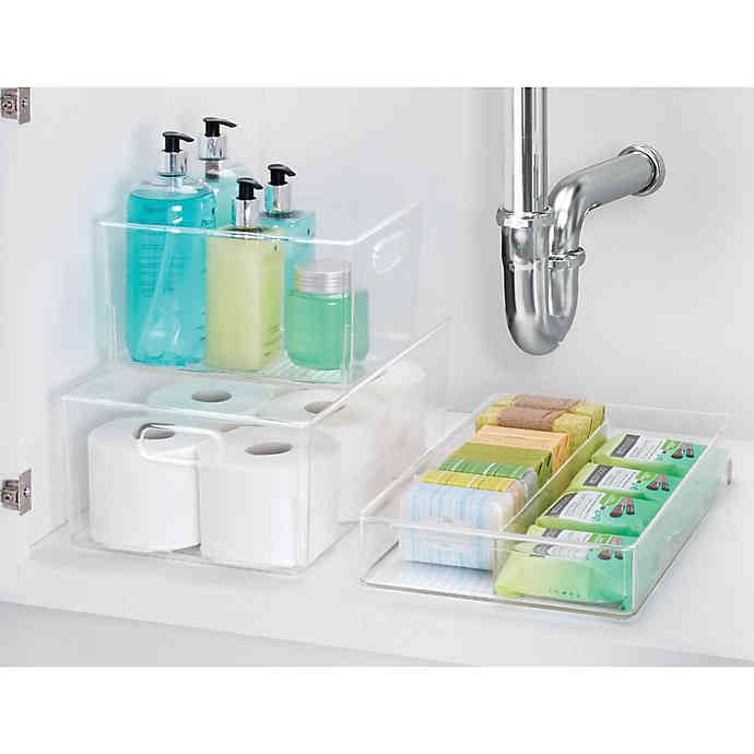 iDesign Bath Organizer Collection