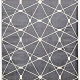 Rug Squared Carlsbad Grey Rug ($118.99)
