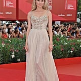 Diane Kruger attended the first Venice premiere.