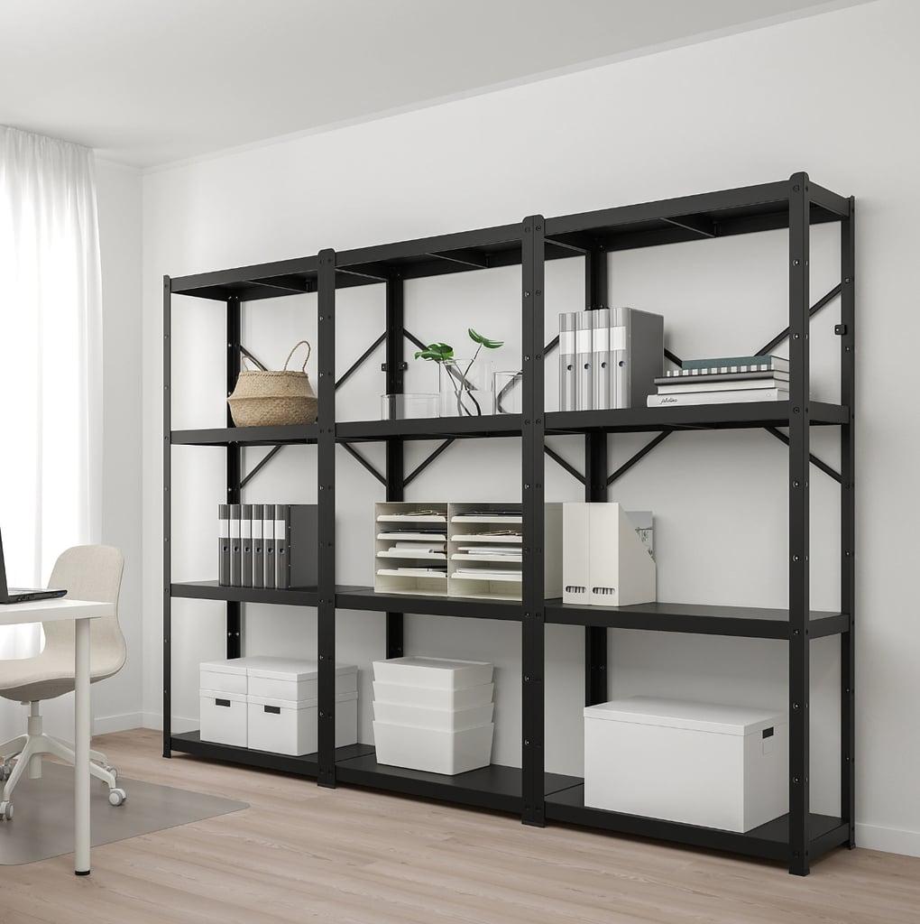 Bror Shelving Unit | Best Ikea Living Room Furniture With Storage |  POPSUGAR Home UK Photo 57