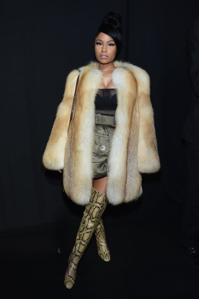 Nicki Minaj at NYFW