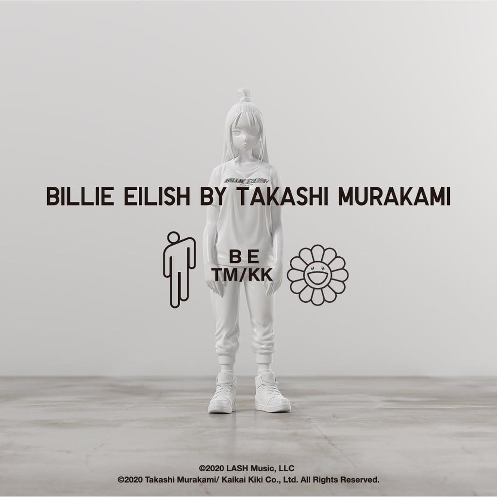 Billie Eilish and Takashi Murakami Collection at Uniqlo