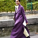 If you're going to cover up your outfit for the cold Winter months anyway, it might as well be with a gorgeously colored coat.