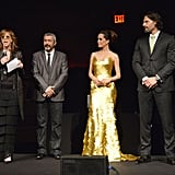 Joe Manganiello and his costar Caroline Correa took the stage at Magnum ice cream's As Good as Gold screening.