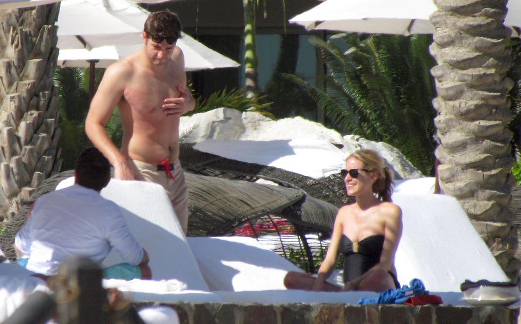 Kristin Cavallari and Jay Cutler on vacation.