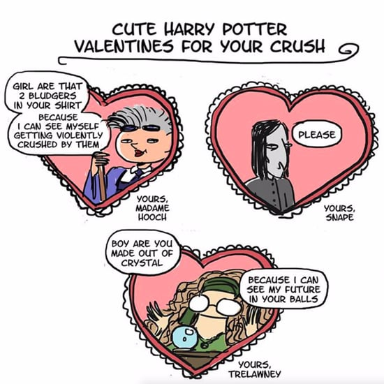 Funny Harry Potter Valentine Ideas