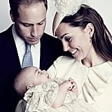 Official Prince George Christening Portraits
