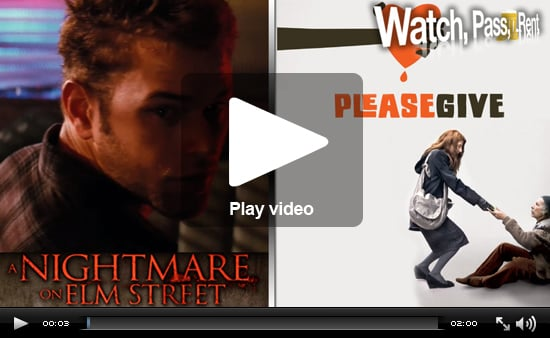 Video Movie Reviews of A Nightmare on Elm Street and Please Give