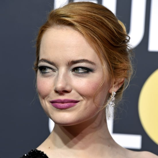 Emma Stone's Makeup at the 2018 Golden Globes