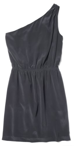 Keep it sweet and simple in this charcoal gray mini dress — the amazing color and easy silhouette makes it almost a no-brainer to accessorize, and you can pretty much go with any type of shoe.  Club Monaco Logan Dress ($229)