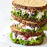 Lightened Up Greek Yogurt Chicken Salad Sandwich