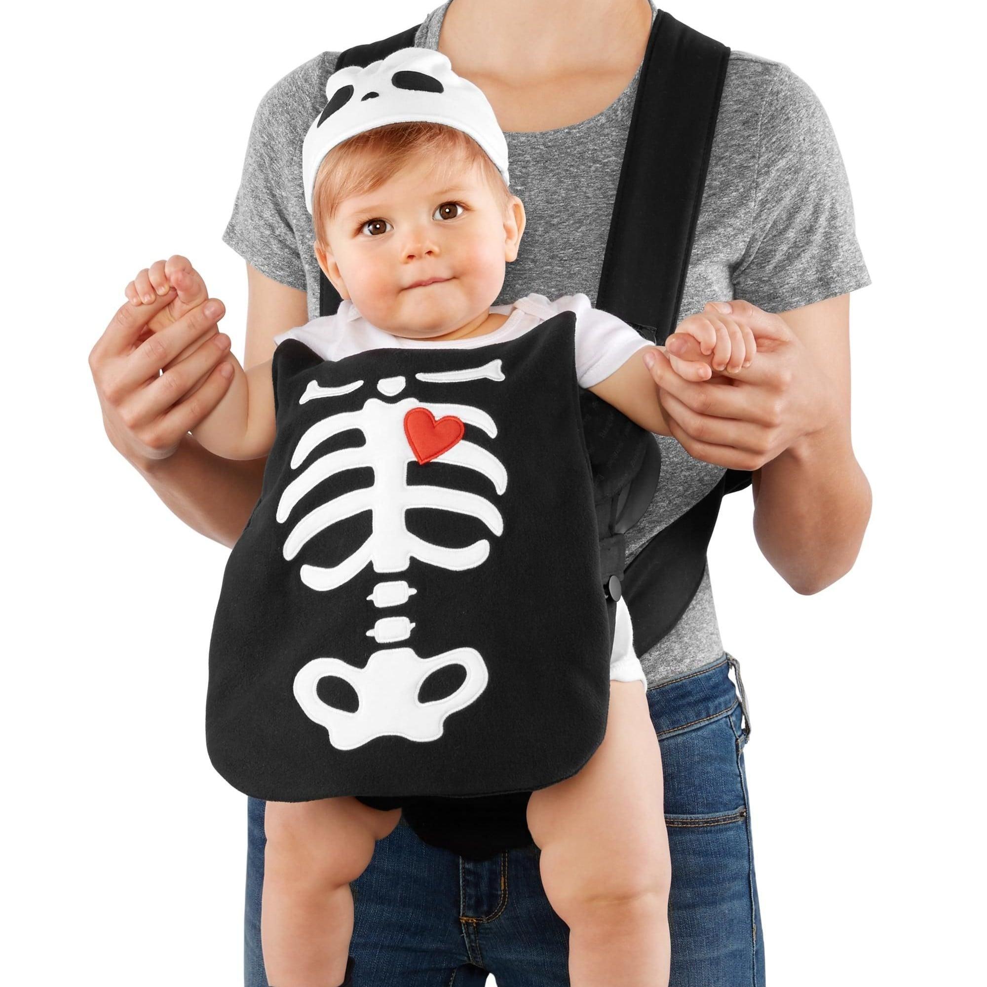 carters little skeleton halloween carrier costume carters baby carrier halloween costumes popsugar moms photo 4