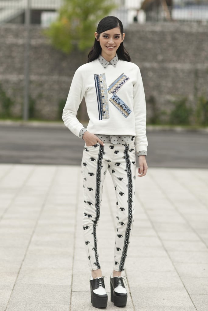 """K"" is for Kenzo."