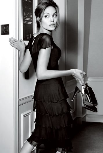 Angelina Jolie's St. John Advertisements