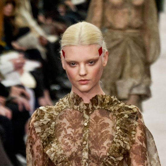 Montana Cox Bleaches Hair for Givenchy at Paris Fashion Week