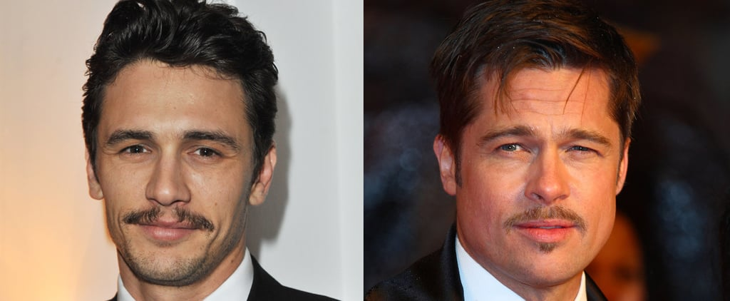 The Hot Mustached Men of Hollywood