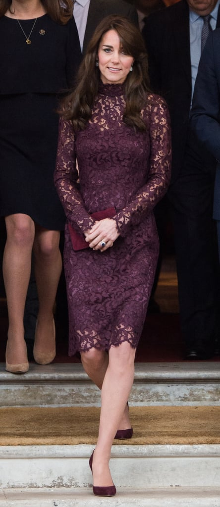 Kate First Wore a Dolce & Gabbana Dress in October 2015 During China's State Visit