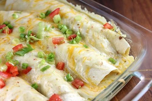 Chorizo Enchilada Casserole