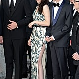 Kristen Stewart posed with her costars for the On the Road premiere in Cannes.