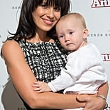 Hilaria Baldwin brought her baby girl, Carmen, to the NYC Target launch event for Annie.