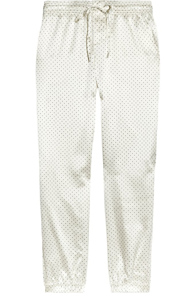 Silky sleepwear is on everyone's wish list, right? These Aubin & Wills polka-dot silk-blend satin pajama pants ($95) would be perfect for sleeping or lounging.