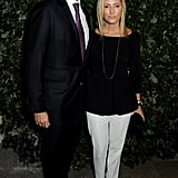 Crown Prince Pavlos and Crown Princess Marie-Chantal of Greece attended the event during London Fashion Week.