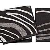 Marble Stripe Bath Towel ($10) and Hand Towel ($8)