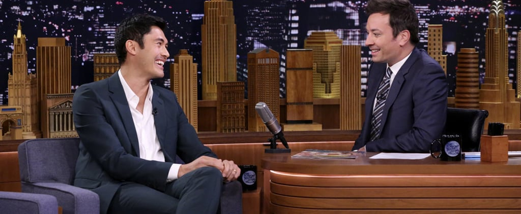 Henry Golding on The Tonight Show August 2018