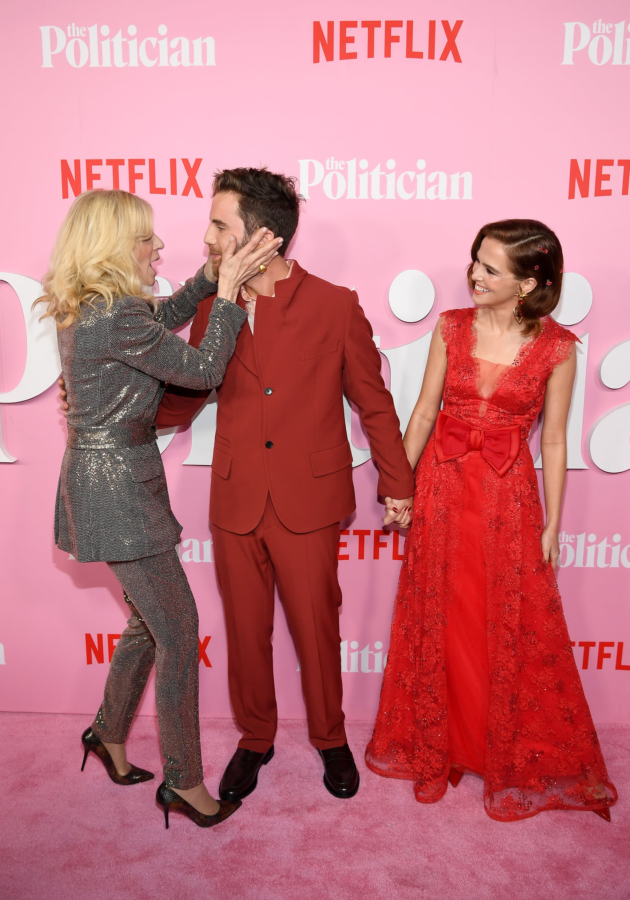 Judith Light Ben Platt And Zoey Deutch At The Politician