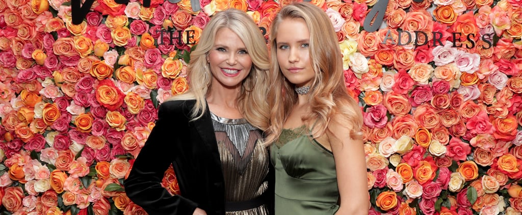 Christie Brinkley and Daughter at Lord and Taylor Event 2016