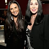Demi Moore chatted with Cher during the event.