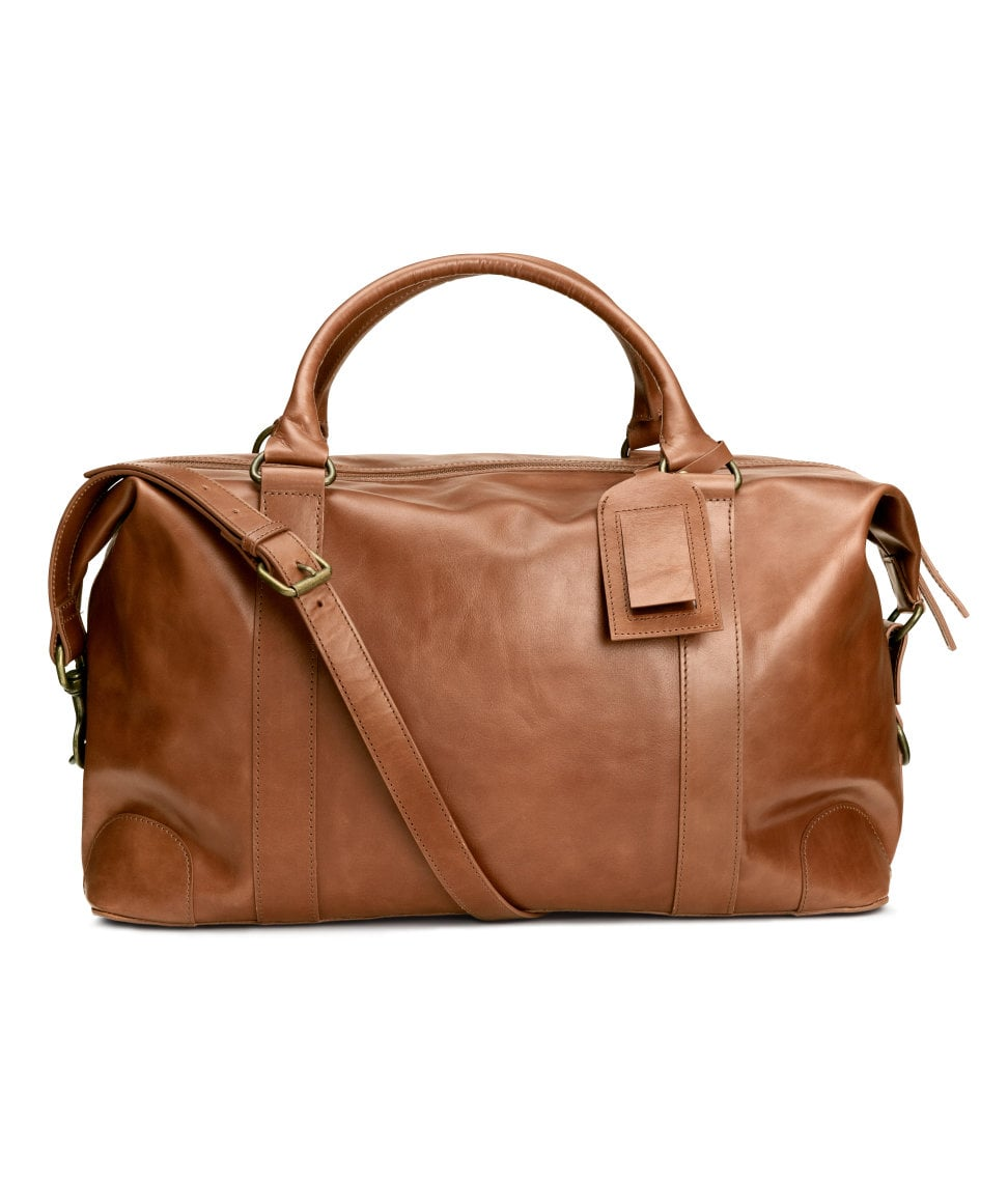 H&M Leather Weekend Bag ($249)