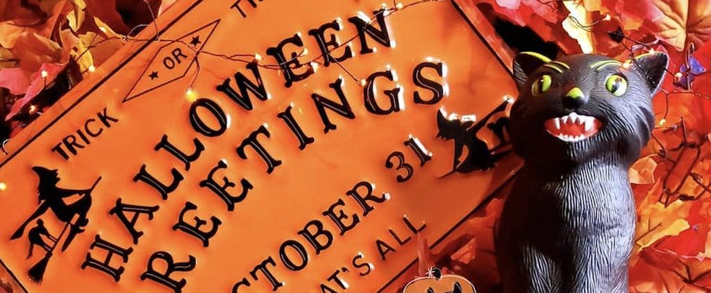 Halloween Decor at Michaels
