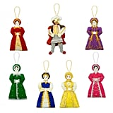Henry VIII and Wives Tree Decorations Set ($62)